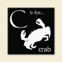 ABC Block - Crab