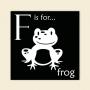 ABC Block - Frog