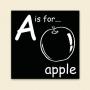 ABC Block - Apple