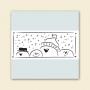 Peeking Snowmen